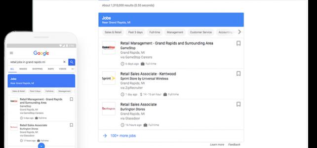 Cercare lavoro con Google, arriva Job Search